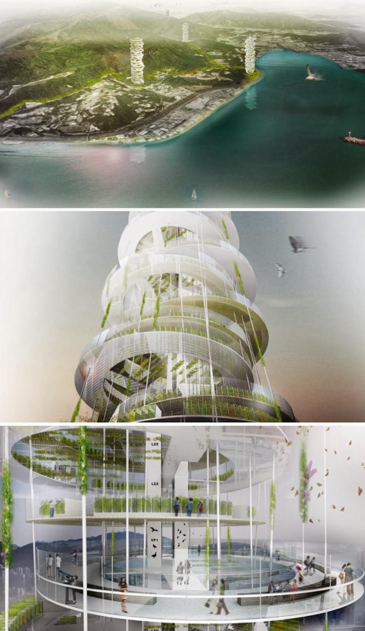 Bu şehirlerde oksijen üretimi güneş ve dalgalar ile sağlanacak